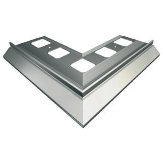 Зовнішній кутовий елемент 90° OB 265/03; 265/41; 265/24